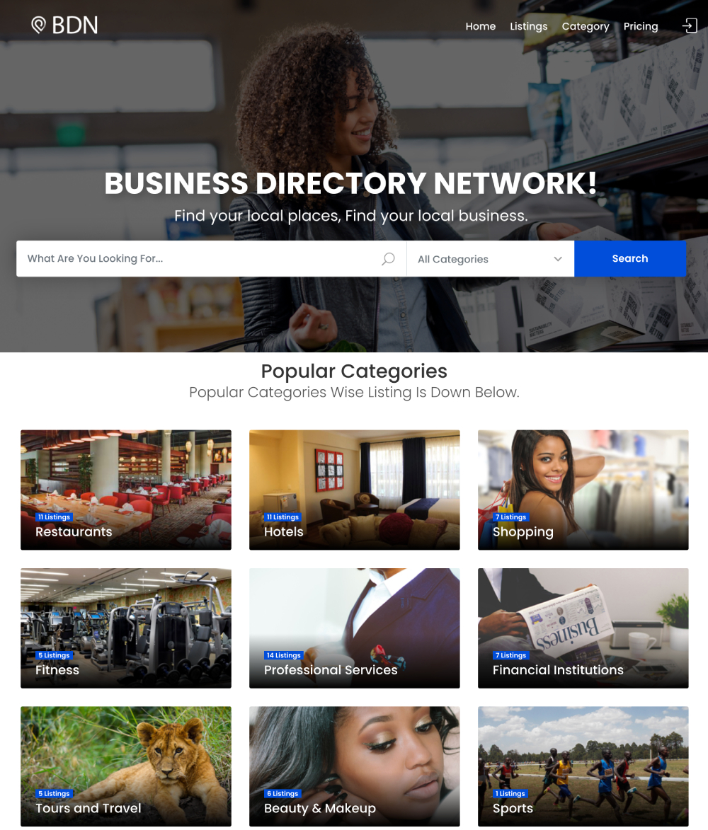 Business Directory Network